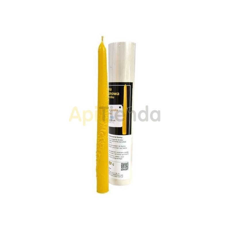 Moldes Molde vela estampada Molde de silicona para elaborar las velas de cera Vela estampada Altura 225mm Mecha recomendable