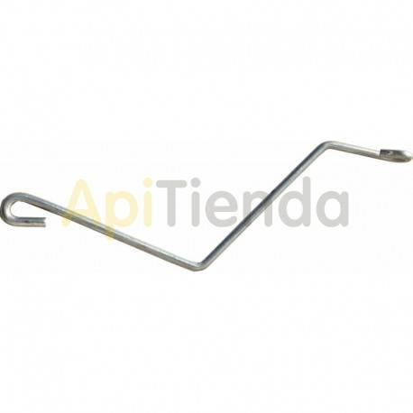 Colmenar Enganches de fijación Enganche de alambre galvanizado Ø3.5mm Lleva ambos extremos en doble Muy útil para fijar las al