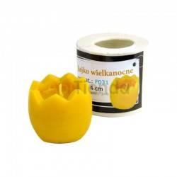 Moldes Molde Vela Huevo Molde de silicona para elaborar las velas de cera de abeja Forma de huevo Altura 40mm 38g de cera PL