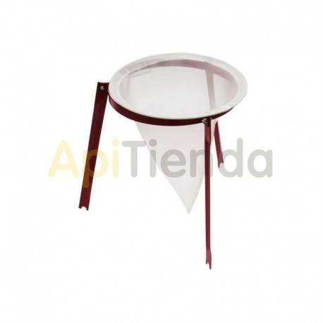Filtros para miel Filtro nylon Ø30cm con soporte Filtro nylon conico, con el diámetro Ø30cm se entrega con su soporte  Ø30cm