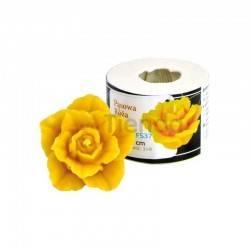 Moldes Molde Rosa, pequeña Molde de silicona para elaborar las velas de cera de abeja Rosa, puequeña Altura 40mm Mecha recome