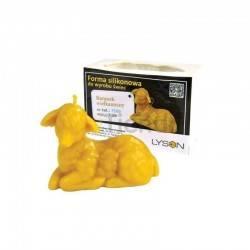 Ofertas Molde Cordero de Pascua Molde de silicona para elaborar las velas de cera de abeja Forma - Corderito Altura 7 cm, La