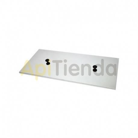 Cubetas Tapa cubeta REFORZADA 1000mm Tapa para cubeta de 1000mm de largo (modelo W40460C_LN) Fabricado en acero inox.