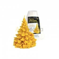 Moldes Molde Arbol de Navidad con Regalos Molde de silicona para elaborar las velas de cera de abeja Arbol de Navidad con regal