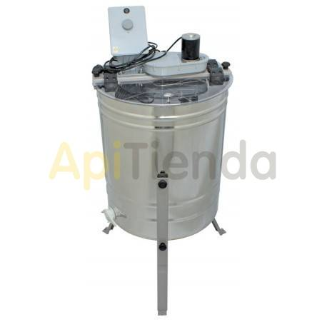Extractores Extractor 4 cuadros Langstroth tangencial, eléctrico MINIMA Extractor eléctrico tangencial de 4 cuadros Langstroth.