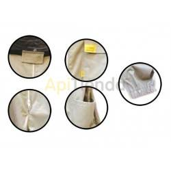Vestuario Buzo apicultor careta redonda Optima    Careta redonda desmontable. Alta seguridad. Tela fuerte algodón 100%. Ca